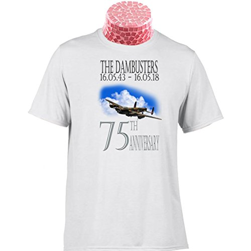 DAMBUSTERS 75TH ANNIVERSARY GIFT T SHIRT. 10% donated to The Royal Air Force Benevolent Fund. Can Be Personalised.