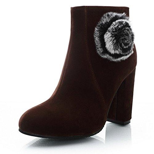 A&N ,  Damen Chelsea Boots , braun - braun - Größe: 36.5 -