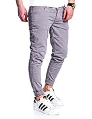 MT Styles Pantalon homme Slim RJ-2020