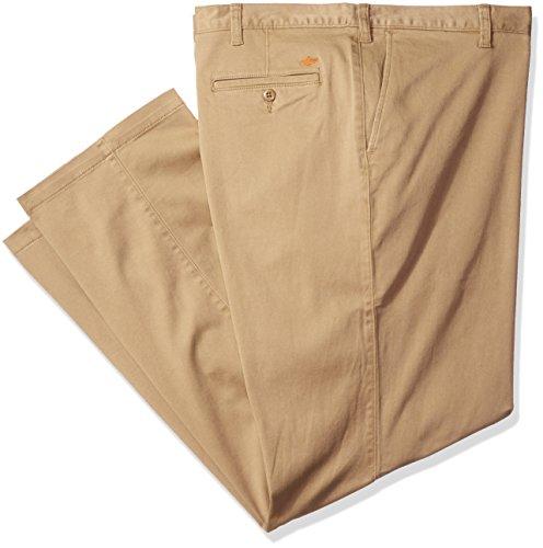 Die dockers Männer Big & Tall Pacific gewaschen Khaki Flat Front Pant, New British Khaki/Stretch, 52 X 30 (Big Tall Khaki And)