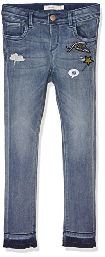 NAME IT Mädchen Jeans Nitanne Xxsl Dnm Pant F Mini, Blau (Medium Blue Denim), 110 (Denim-mini Vintage)