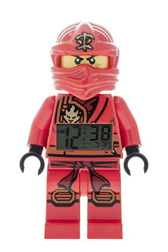 LEGO Unisex Wecker Digital Red 9009600