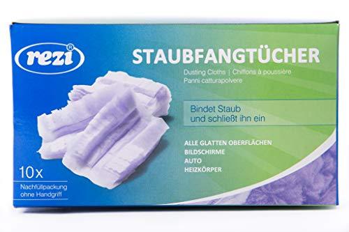 REZI Microfaserprodukte GmbH Staubwischer Nachfüllpack, Violett, Blau, 17 x 12 cm