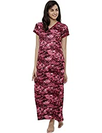 790217c695 Amazon.in  Synthetic - Nighties   Nightdresses   Sleep   Lounge Wear ...