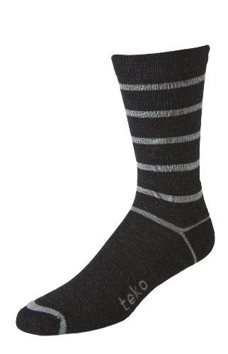TEKO Herren 's Active Lifestyle Teko Vancouver Socke, Herren, Charcoal Heather/Gray (Heather Gray Charcoal)