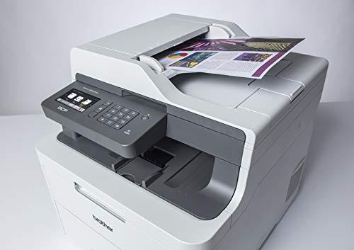 Brother DCP- L3550CDW -  Impresora multifunción (WiFi,  USB 2.0,  512 MB,  800 MHz,  18 ppm,  400 W) Blanco