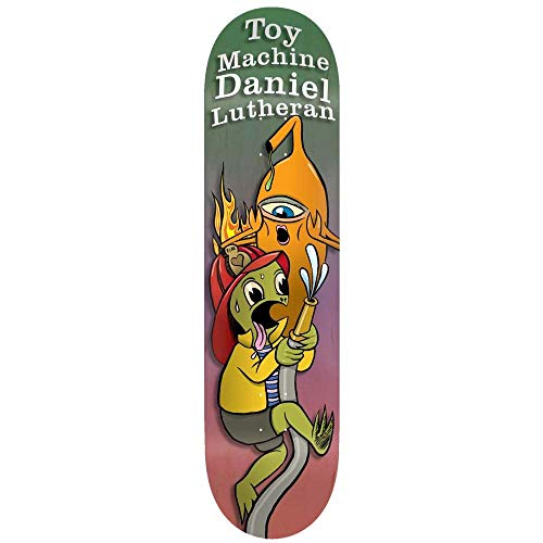 Toy Machine Skateboards-Brett/Deck, 21,6 cm - Lutheran Valentines -