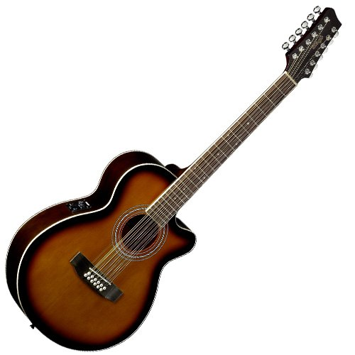 Stagg sa40mjcfi/12-bs Guitarra Electroacústica