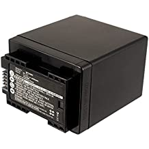 subtel® Batería premium para Canon LEGRIA HF R306, HF R506, HF R57, HF R606, HF R706, VIXIA HF R52 (4450mAh) BP-745,BP-727 bateria de repuesto, pila reemplazo, sustitución