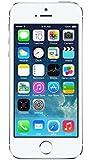 Apple iPhone 5S Smartphone 16GB (10,2 cm (4 Zoll) IPS Retina-Touchscreen, 8 Megapixel Kamera, iOS 7) Silber