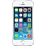 "Apple iPhone 5S - Smartphone libre iOS (pantalla 4"", cámara 8 Mp, 16 GB, Dual-Core 1.3 GHz, 1 GB RAM), plateado"