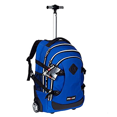 pro-dg 54389–Rucksack Trolley Schule blau Cobalt
