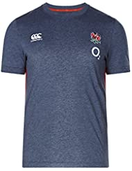Canterbury England Official 17/18 Men's Rugby Vapodri Cotton Training T-Shirt