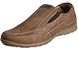 BATA Mens Casual Shoes (8UK/INDIA (42EU), Brown)