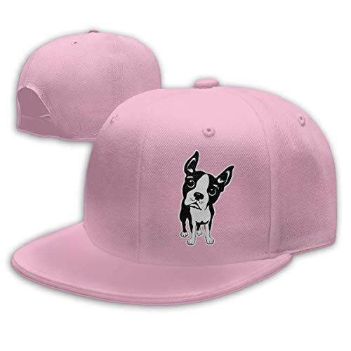 ll Caps,Hüte, Mützen, Classic Baseball Cap, Boston Terrier Dog Men & Women Adjustable Plain Baseball Cap Dad Hat ()