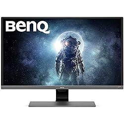 BenQ EW3270U Monitor per Intrattenimento Video, 32 Pollici HDR (UHD), 4K HDR, UHD, VA, 95% DCI-P3, Sensore Brightness Intelligence