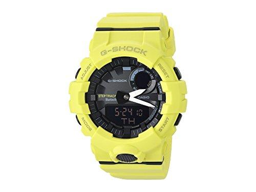 Casio G-Shock By Men\'s Analog-Digital GBA800-9A Bluetooth Watch Lime Green