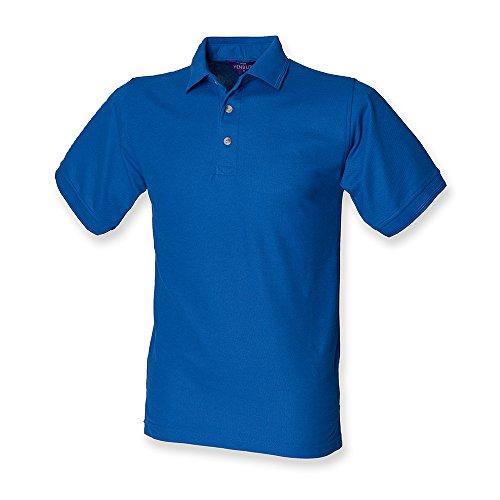Henbury Men's Ultimate Heavy Pique Short Sleeve Polo Shirt