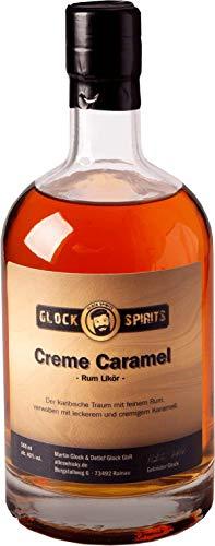 GLOCK SPIRITS Cream Caramel Rum Likör 40% 0,5 Liter