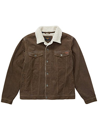 BILLABONG Barlow Trucker Chaqueta, Hombre, Marrón (Coffee 592), X-Large (Tamaño del Fabricante:XL)