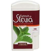 COMPTOIRS ET COMPAGNIES Distributeur 100 Pastilles Stevia Recette sans Amertume 50 g