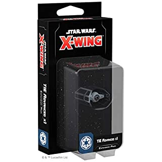 Fantasy Flight Games FFGSWZ15 Star Wars X-Wing: TIE Advanced x1 Expansion Pack, Mixed Colours (Second Edition)