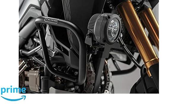 2015 SW Motech FoLight 01.622.10101//B Headlight bracket for CRF1000L SD04//06/ /Black with ExistinDrop Hook/