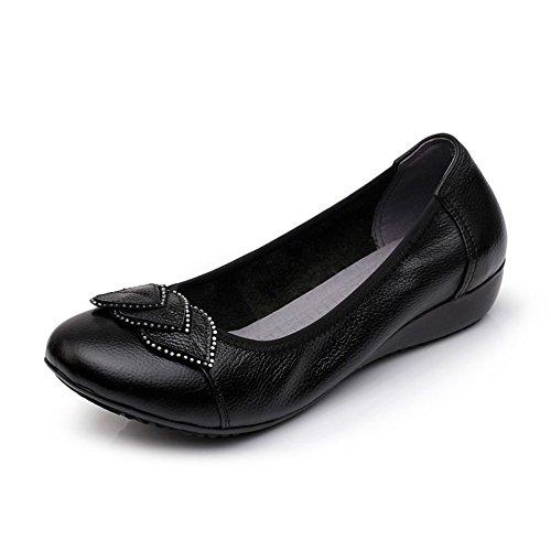 Chaussures plates pour femmes/Maman et chaussures de fond mou/Plus size casual chaussures femme C