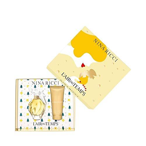 Nina Ricci L'Air Du Temps 2018 Geschenkset 30ml Eau De Toilette EDT & 75ml Body Lotion -