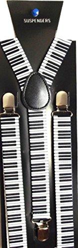 Schmale Klavier Tastatur (braces Narrow Piano Keyboard) Hosenträger