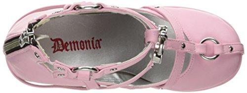 Demonia POISON-25-2 Pink Vegan Leather