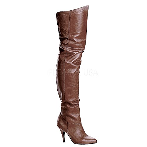 Pleaser LEGEND-8868, Damen Over-Knee Stiefel 37