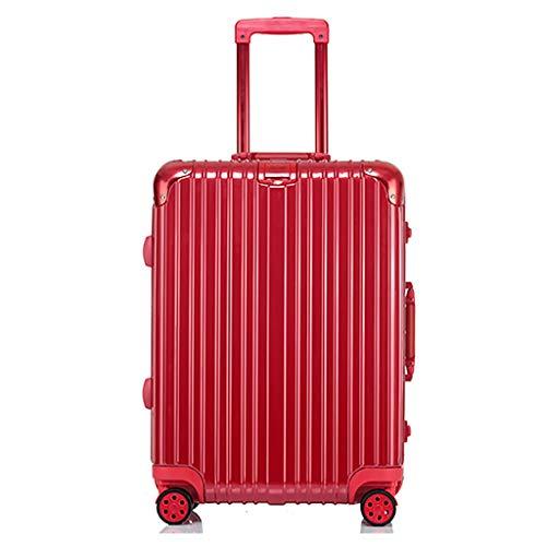 Rollende Laptop-Tasche, leichtes Gepäck beim Check-in Soft-Medium-Koffer, 4 Rollen, Hartschalen-Reisetasche aus Polycarbonat, mit TSA-Verschluss (24 Zoll, 60 cm, 5 Farben) -