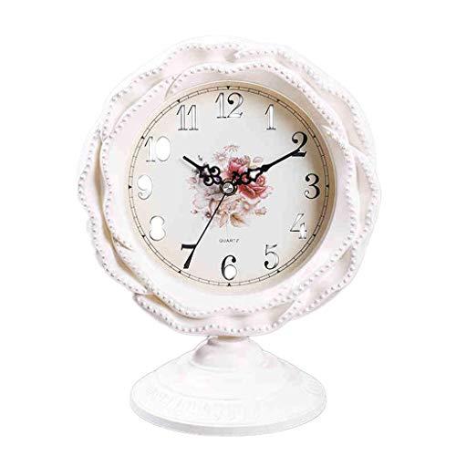 HANGESS Tischuhren - Dekoration Kaminuhren Uhr Kamin, Glas, 28 * 23 * 15cm