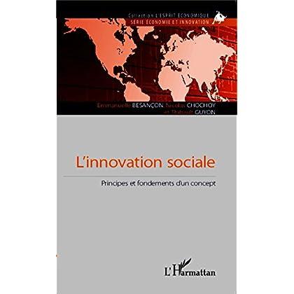 L'innovation sociale: Principes et fondements d'un concept (L'esprit économique)