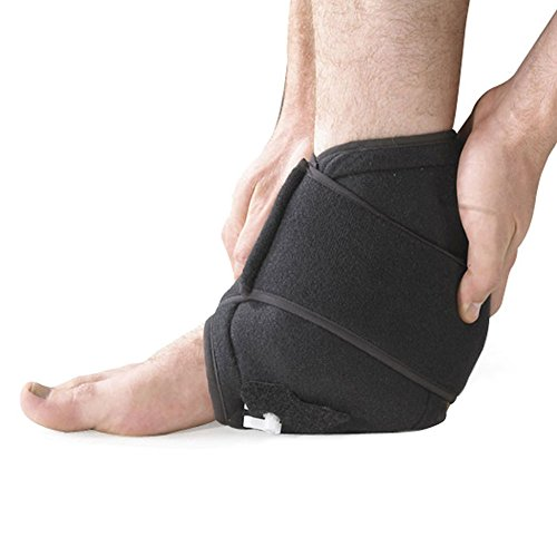 Ankle Cold Compression Cuff - Cryo Therapy Injury Ice Pack Rehabilitation Swelling Test