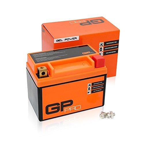 Preisvergleich Produktbild GP-PRO GTX4L-BS 12V 5Ah Gel-Batterie (Ähnlich YTX5L-BS / YTX4L-BS) (Wartungsfrei / Versiegelt) Rollerbatterie Akkumulator Roller