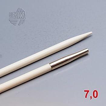 Lana Grossa vario Nadelspitzen Messing 7,0mm