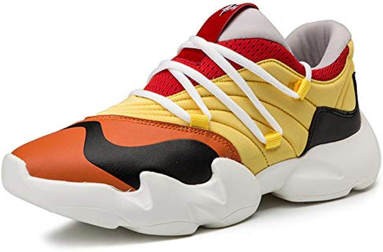 H.L scarpe da ginnastica Uomo, Uomo, Uomo, Tendenza degli Uomini Hip Hop Sport Tempo Libero Slittamento Indossare Scarpe Leggere comode...   Sito Ufficiale  4f6626