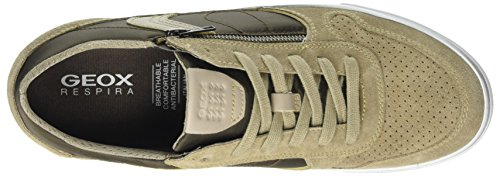 Geox Herren U Box C Sneaker Beige (sabbia / Marrone)