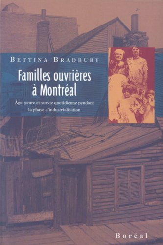 Familles ouvrières à Montréal