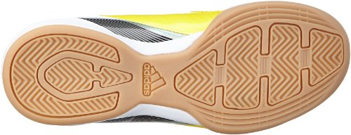 adidas Performance F10 IN J G65333, Scarpe da calcio Bambino Giallo (Gelb (VIVID YELLOW S13 / BLACK 1 / RUNNING WHITE FTW)