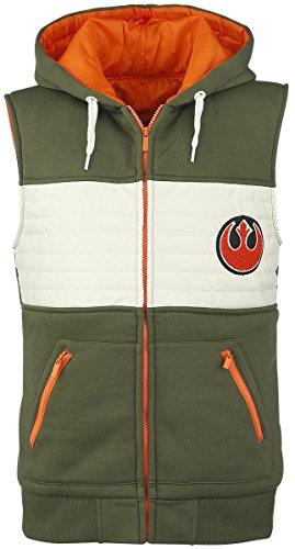 Star Wars Rebel Fighter Felpa jogging verde/bianco/arancione XL