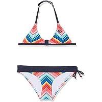 RIP CURL Breaker Tri SETB Swimsuit niña, Color Infinito, tamaño XL (Talla del Fabricante: 16)