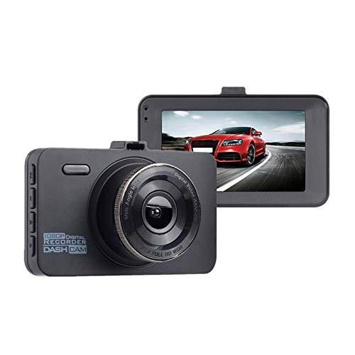 Monland 2 Stücke Dash Cam, 1080P Auto Dvr Armaturenbrett Kamera Volles Hd Mit 3 Zoll LCD Bildschirm 170 Grad Weit Winkel, Wdr, G-Sensor, Loop Aufnahme Und Bewegungs Erkennung (Cr300)