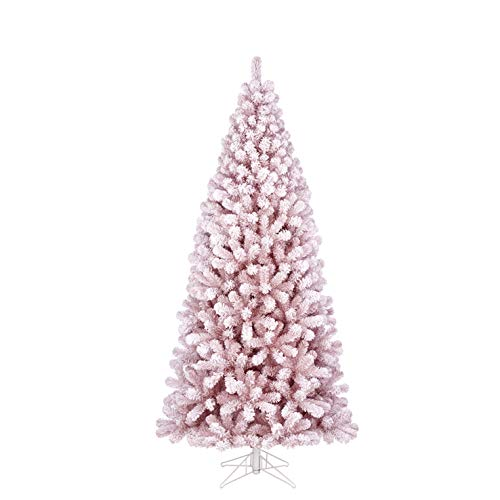 Black Box Trees Cembra Weihnachtsbaum Tips 1071-h215xd104cm, PVC, rosa, Frosted 215 -