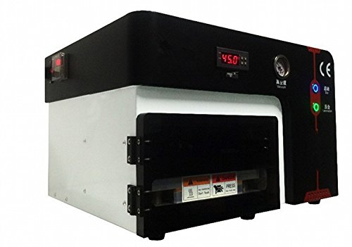 Gowe Eingebautes Defoam Maschine OCA Vakuum Maschine Laminierfolie für 17,8cm Bildschirm ohne Kompressor kein Vakuum Pumpe (Vakuum-kompressor-pumpe)