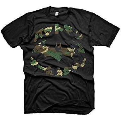 Camiseta Batman T-Shirt Camo Symbol, XL