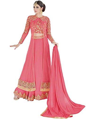 a4222b7d79 Justkartit 2017 Occasion Wear Net Anarkali Style Lehenga Choli Suits Dress  Material anarkali lehenga choli
