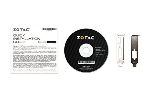 ZOTAC GeForce GT 710 ZONE Edition 2GB DDR3 Dual Link DVI HDMI VGA aktiv - 6